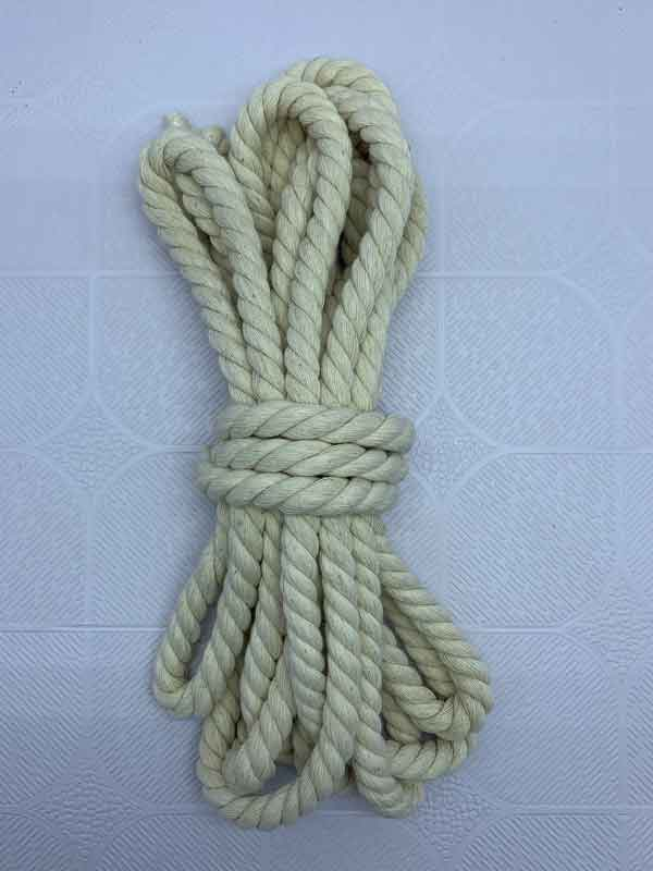 Cotton Rope 10 mm Natural