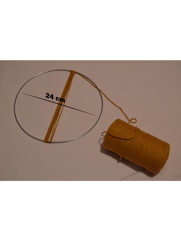 Metal Ring 24 cm