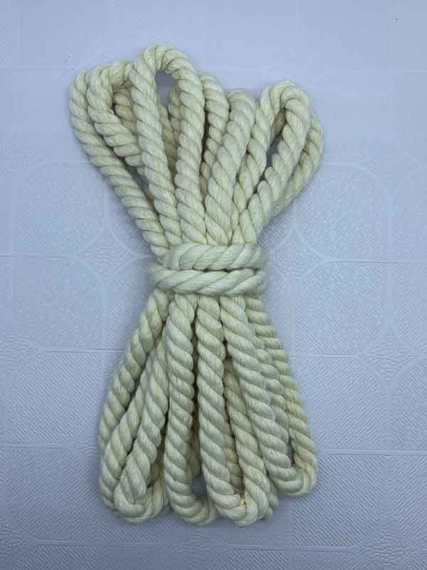 Cotton Rope 12 mm Natural
