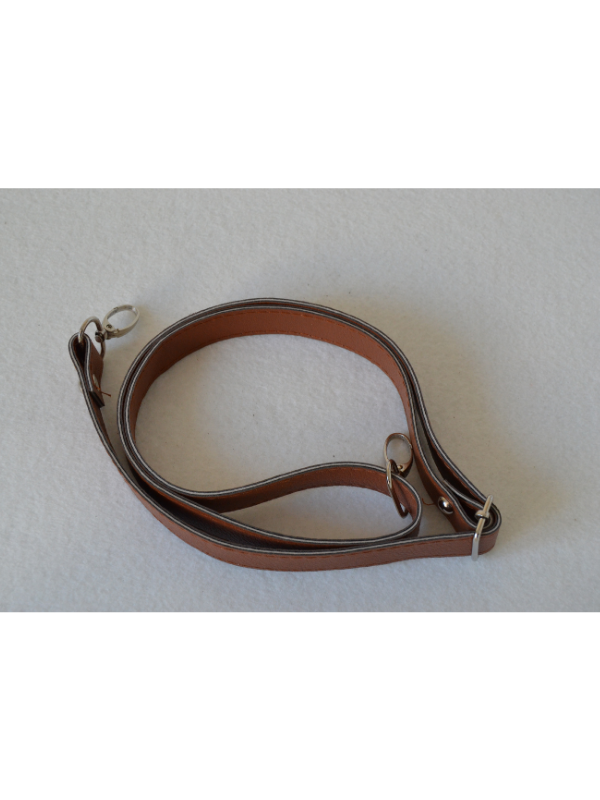 Leather Extended Strap-Brown