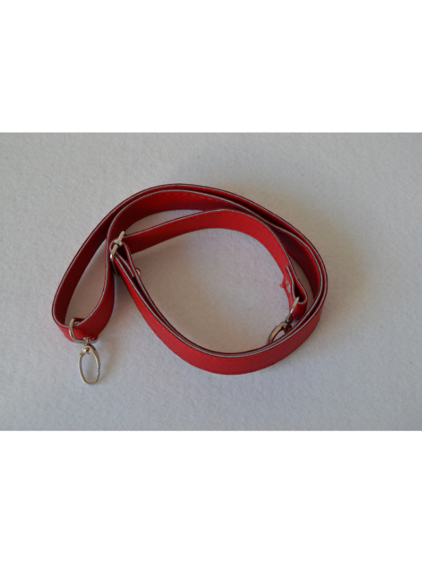 Leather Extension Strap-Red