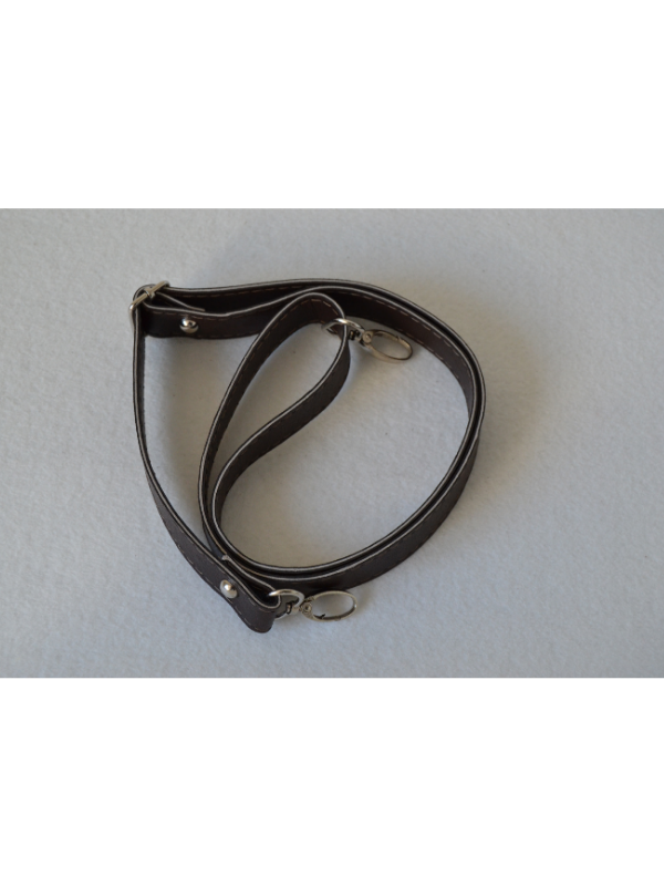 Leather Extended Strap-Dark Brown