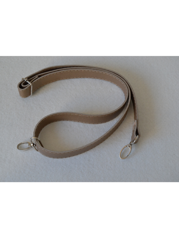 Leather Extended Strap-Mink