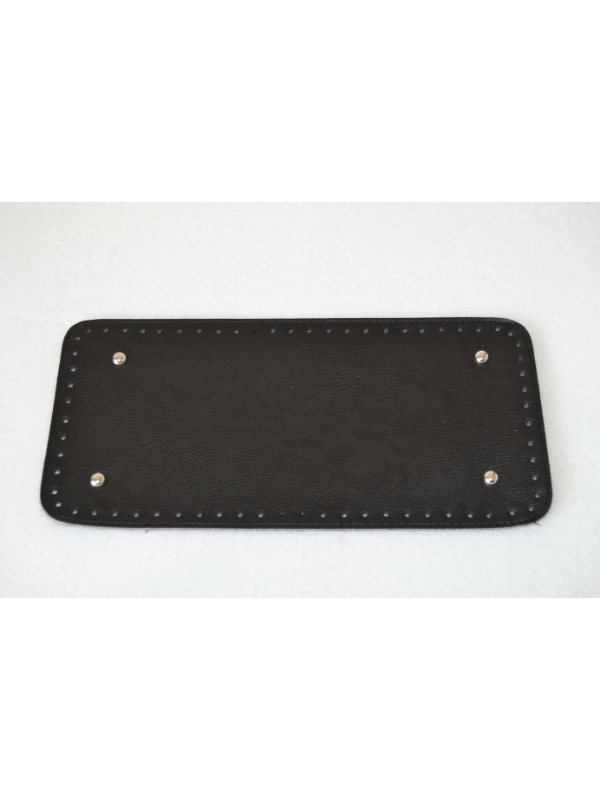 Leather Insoles-Black-Large Rectangle