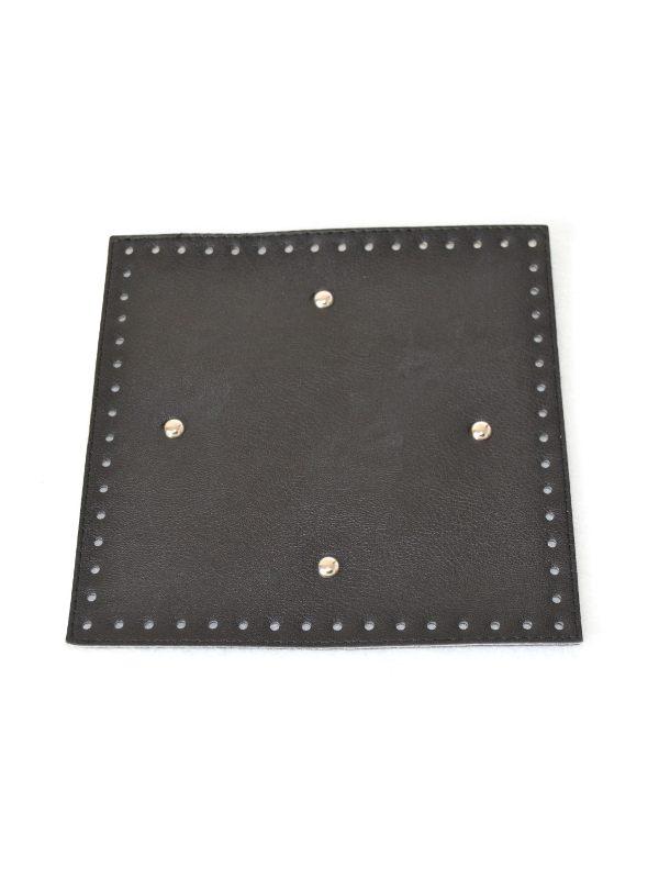 Leather Insoles-Black-Square