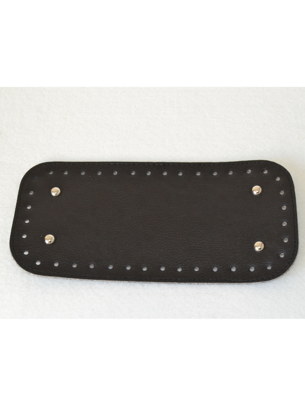 Leather Insoles-Black-Small Rectangle
