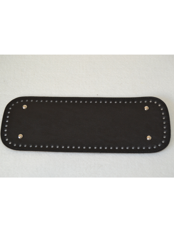 Leather Insoles-Black-Long Rectangle
