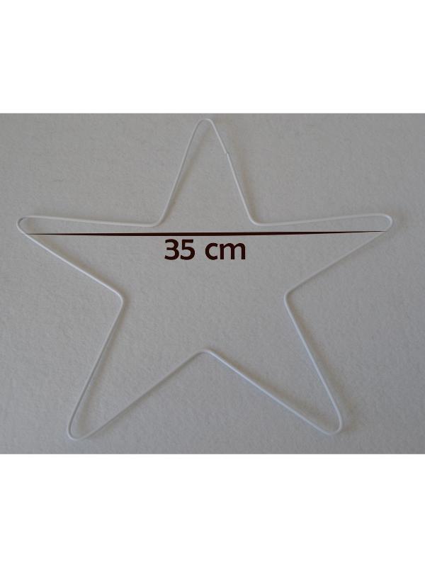 Star Metal Wall Ornament-Door Ornament Wire