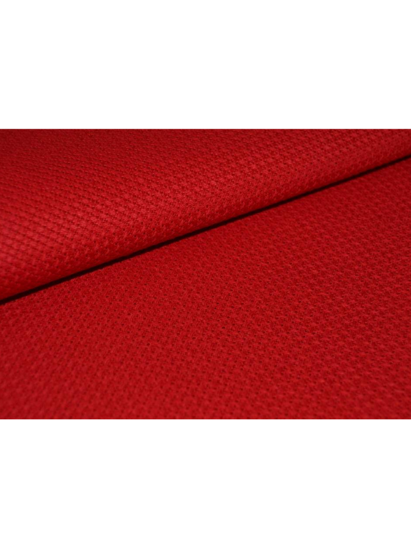 Red Etamine Embroidery Fabric 11 ct.