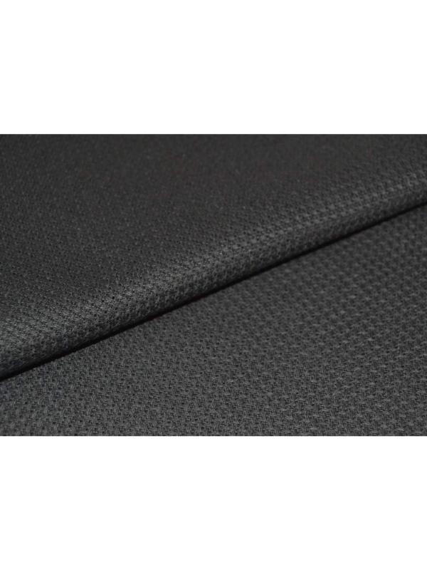 Black Etamine Embroidery Fabric 11 ct.