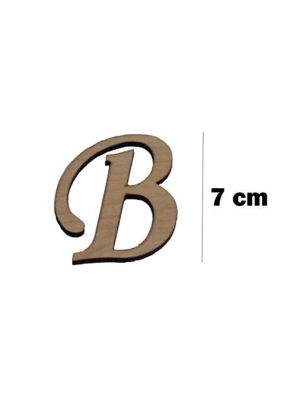 Wooden Letter (B)