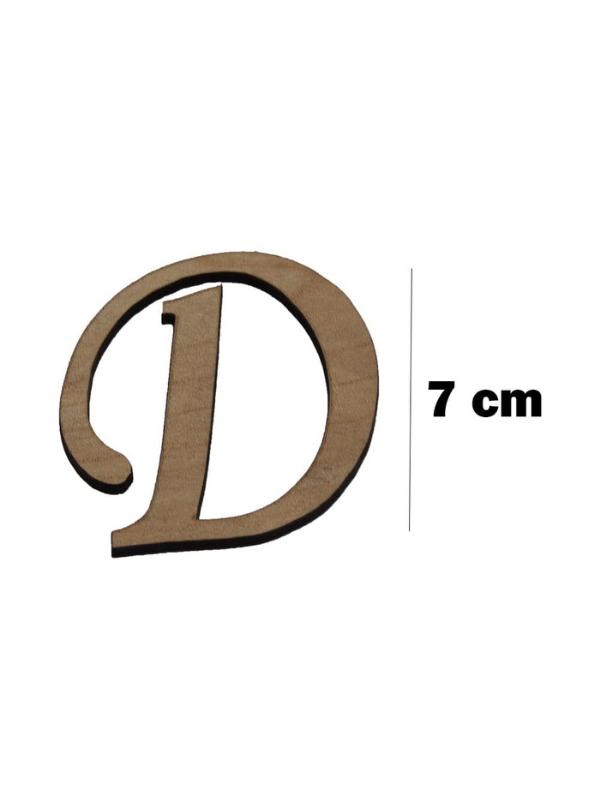 Wooden Letter (D)