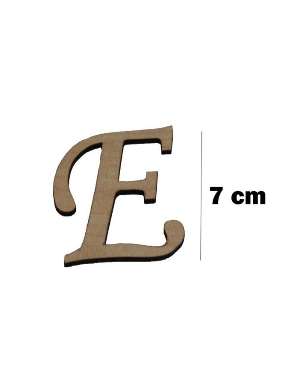 Wooden Letter (E)