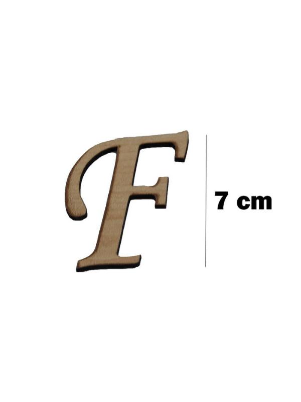 Wooden Letter (F)