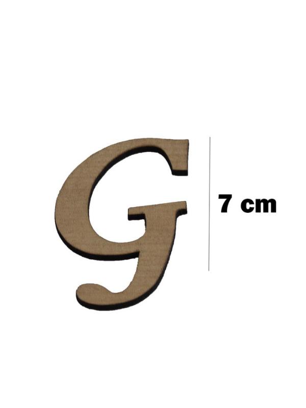 Wooden Letter (G)