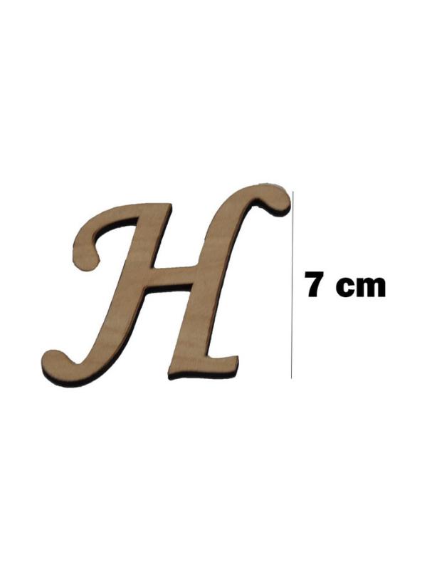 Wooden Letter (H)