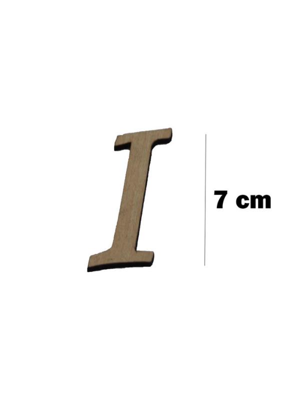Wooden Letter (I)