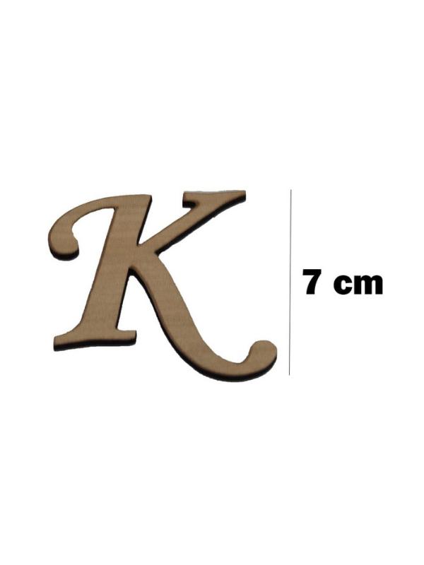 Wooden Letter (K)