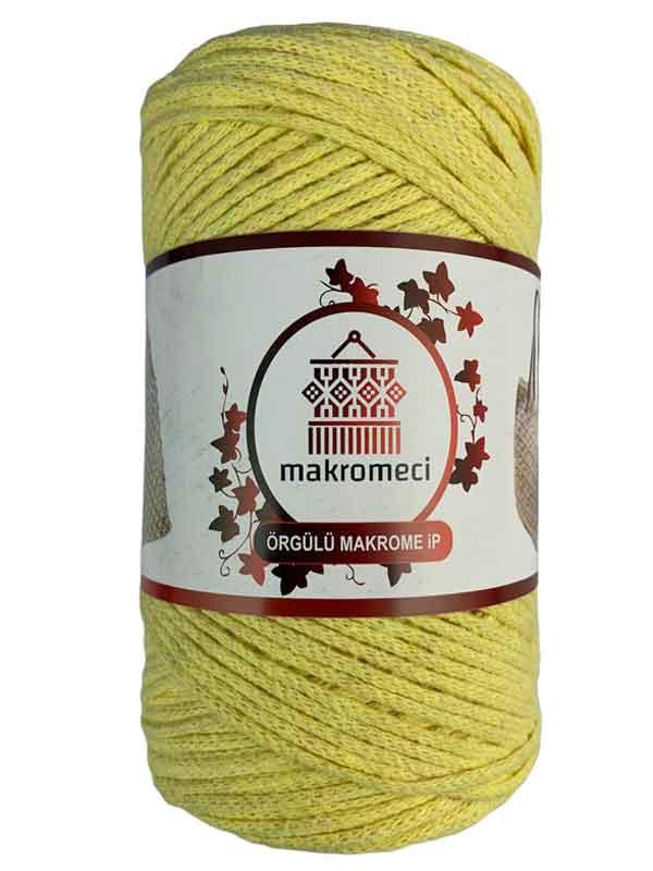Cotton Knit Macrame-Light Yellow