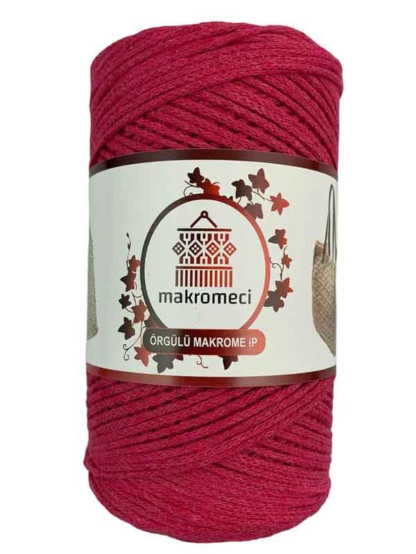 Cotton Knit Macrame-Fuchsia