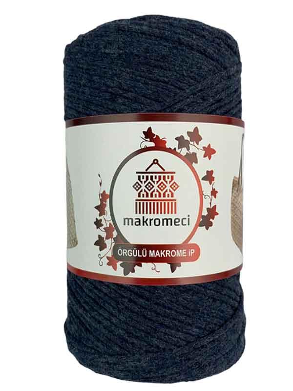 Cotton Knit Macrame-Indigo