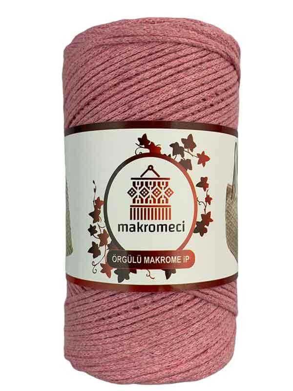 Cotton Knit Macrame-Baby Pink