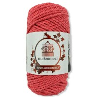 Macrame Rope 3 mm Double Twisted-Nar Flower