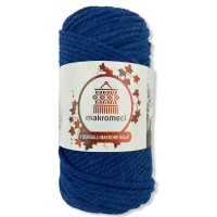 Macrame Rope 3 mm Double Twisted-Saxe