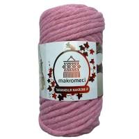 Single Twist Macrame 4 mm-Baby Pink