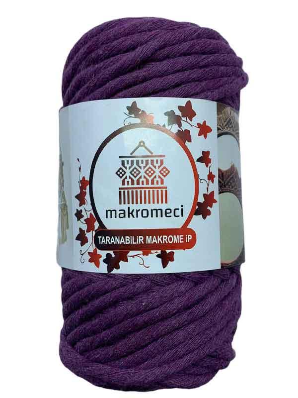 Single Twist Macrame 4 mm - Purple