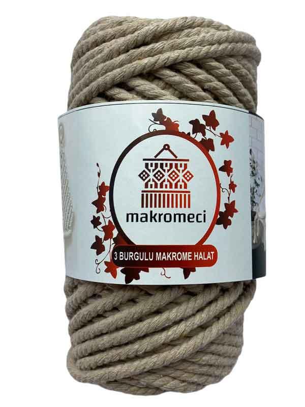 Macrame Rope 5 mm 3PLY-Beige