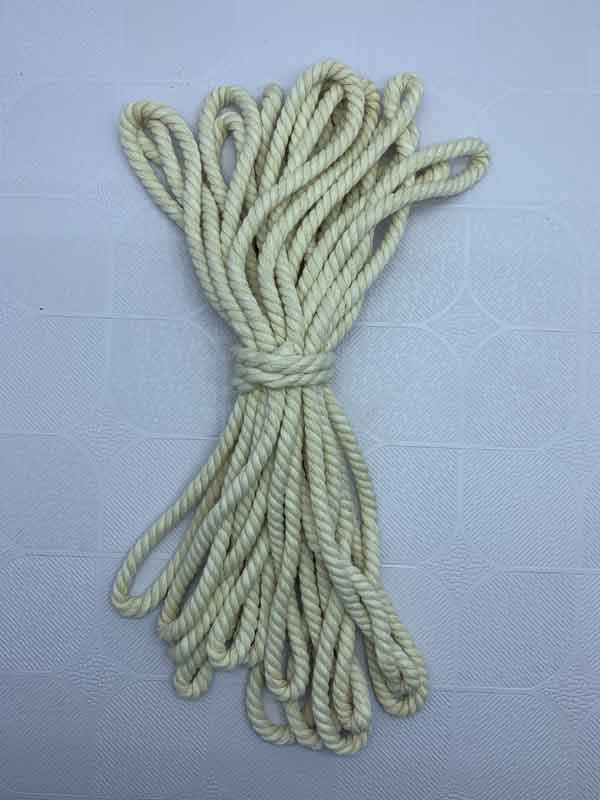 Cotton Rope 6 mm Natural