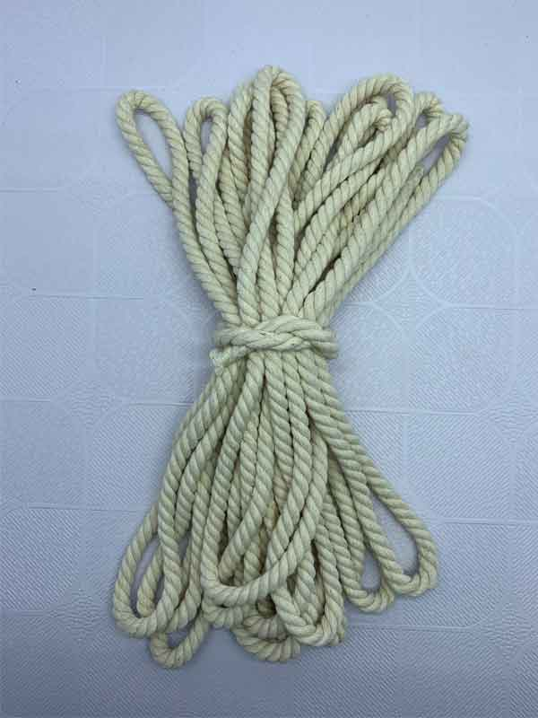 Cotton Rope 8 mm Natural