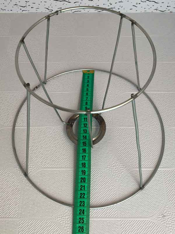 Lampshade Wire 23 cm Round