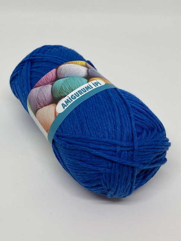 Amigurumi Yarn-Sax Blue