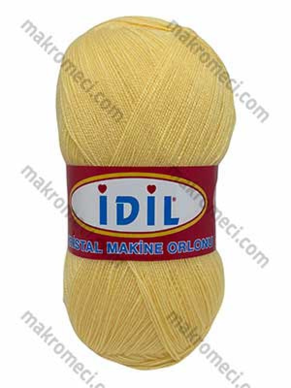 İdil Fiber Knitting Yarn-Light Yellow