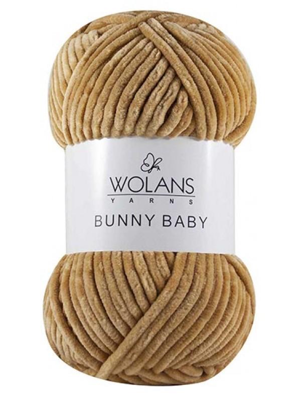 Bunny Baby Velvet Yarn-Beige
