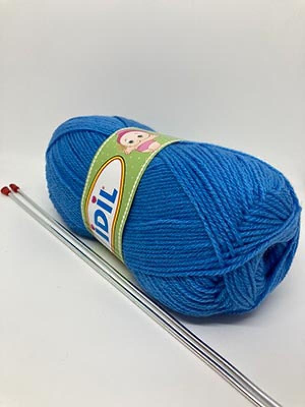 İDİL Baby Knitting Yarn-Blue