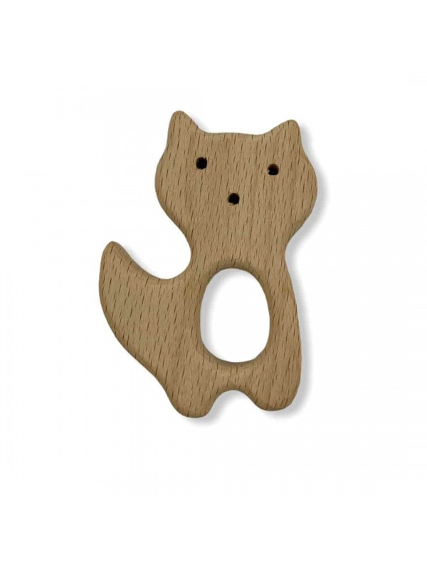 Natural Wooden Tooth Scratchy-Cats