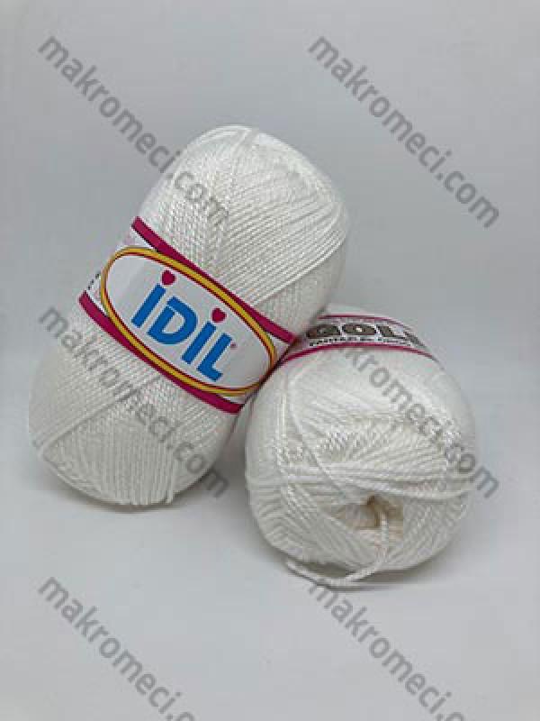 İDİL Bootee Knitting Yarn-Ice White