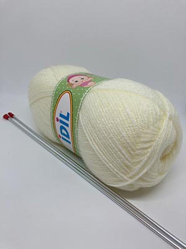 İDİL Baby Knitting Yarn-Natural