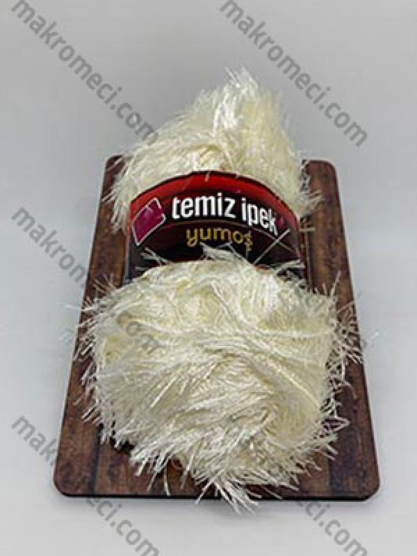 Yumos Polyester Knitting Yarn-Natural