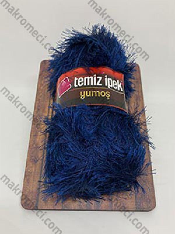 Yumos Polyester Knitting Yarn-Navy Blue