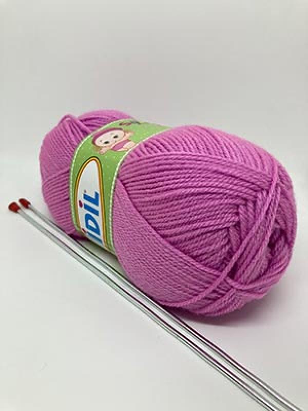 İDİL Baby Knitting Yarn-Lilac