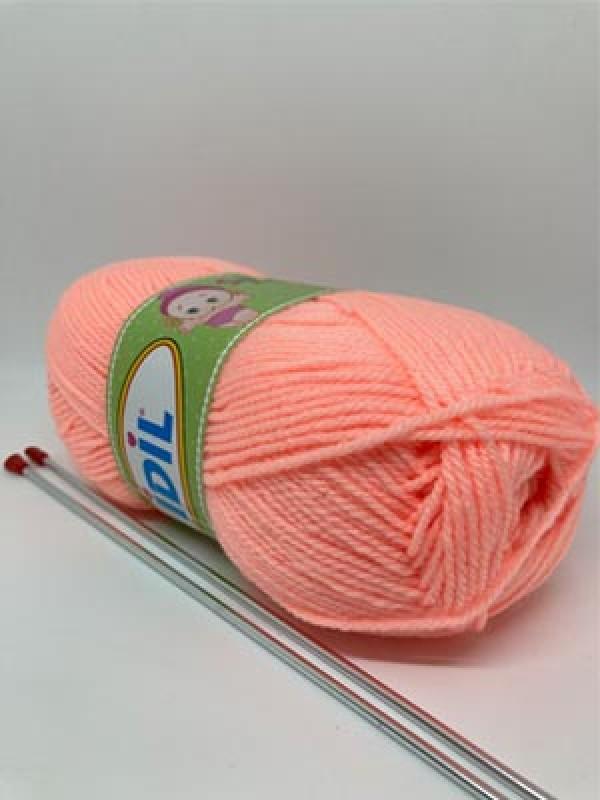 İDİL Baby Knitting Yarn-Light Pink