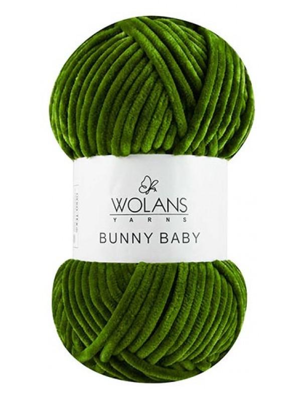 Bunny Baby Velvet Yarn-Green