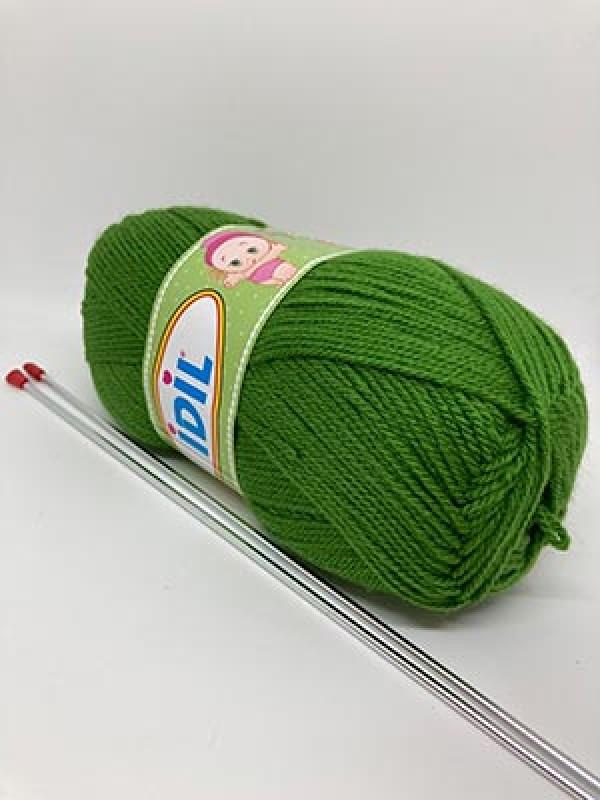 İDİL Baby Knitting Yarn-Green
